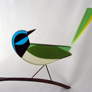 Fused Bird on a Stick